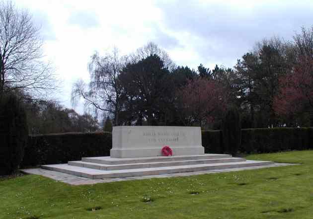 Commonwealth War Graves granite block